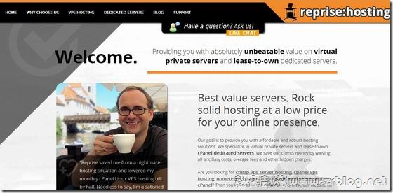 RepriseHosting:西雅图独立服务器26.95美元起/支持支付宝