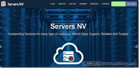ServersNV:€4/月KVM-1GB/55GB/1250GB 英国