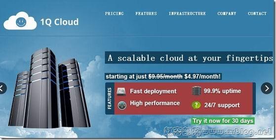 1QCloud:$6.96/月XEN-1GB/30GB/10TB 盐湖城
