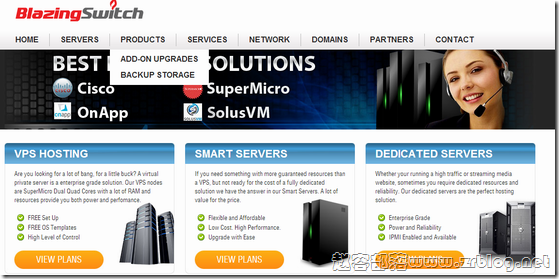 BlazingSwitch:$1/首月OpenVZ-512MB/25GB/100M无限 美国