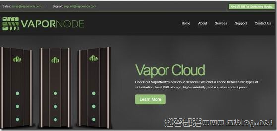 VaporNode:$7/月KVM-1GB/500GB/2TB 坦帕