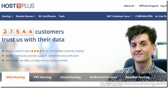 [黑五]Host1Plus:VPS及Cloud主机五折优惠