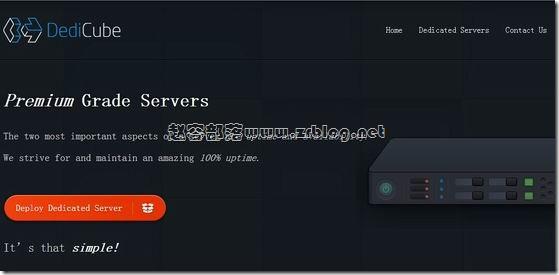 [服务器]DediCube:$30/月-X3470/8GB/2TB/10TB/5IP 洛杉矶