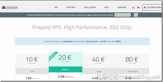 OnVirt:€6.5/月KVM-1GB/25G SSD/2TB 德国