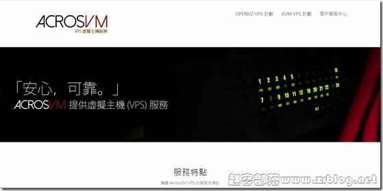 【已倒闭】AcrosVM:19元/月KVM-512MB/15GB/500GB 洛杉矶