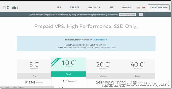 OnVirt:€6/月KVM-1GB/25G SSD/2TB 德国