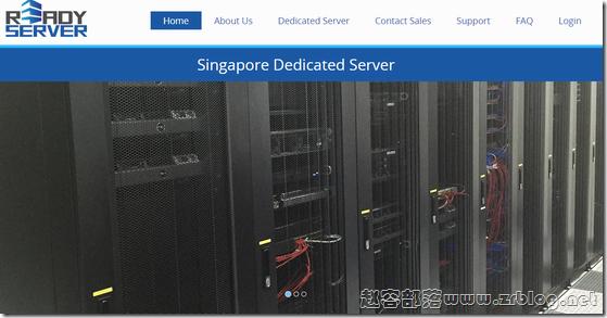 [服务器]ReadyServer:$79.2/月-E3 1230v3/8GB/1TB/100M无限/5IP 新加坡