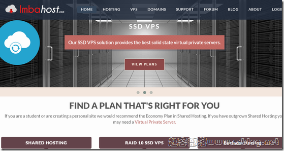 ImbaHost:$4/月KVM-1GB/20G SSD/1TB 达拉斯