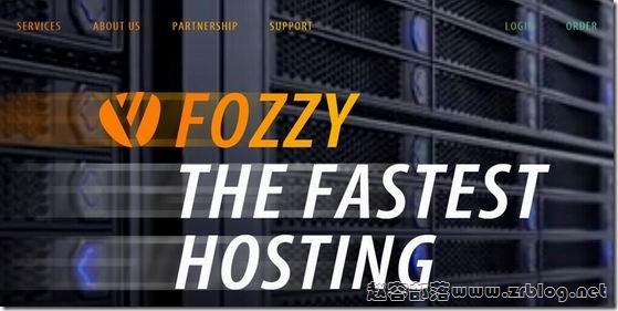 Fozzy:$6.75/月OpenVZ-512MB/15G SSD/1TB 荷兰
