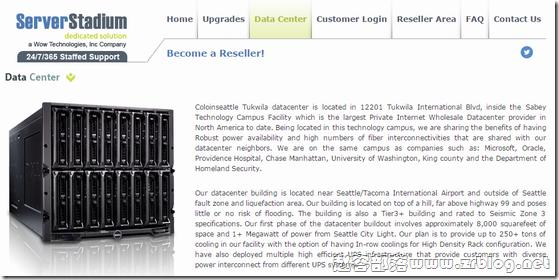 ServerStadium:$13.5/月-Dual L5420/16GB/500GB/10TB/4IP/西雅图机房