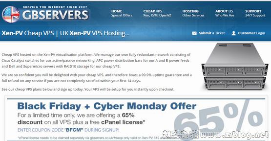 GBServers:£5.5/月XEN-1GB/60GB/800GB 英国