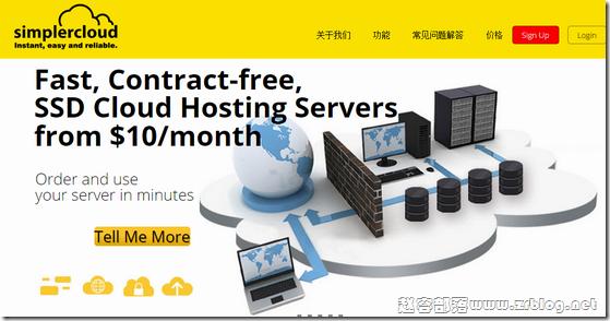 SimplerCloud:$5/月KVM-1GB/20G SSD/1TB 新加坡