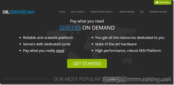 drServer:达拉斯服务器月付14.5美元/C2750/8GB/2TB/无限流量