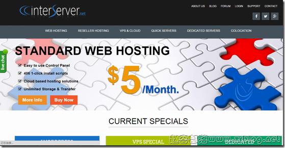 InterServer:$6/月OpenVZ-1GB/25GB/1TB 洛杉矶&新泽西