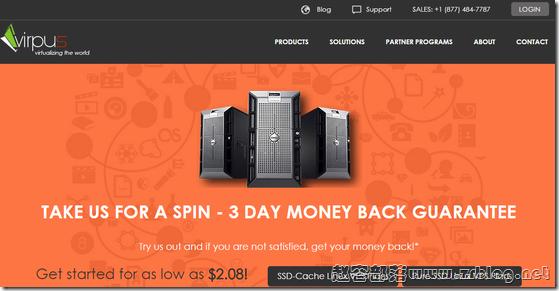 VIRPUS:$2.8/月XEN-1GB/30G SSD/3TB 西雅图