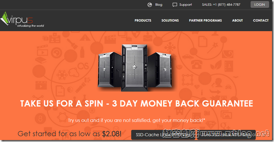 VIRPUS:$2/月XEN-512MB/15G SSD/1.5TB 西雅图