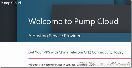 PumpCloud:$6/月KVM-512MB/25GB/400GB 圣何塞
