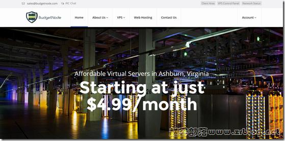 BudgetNode:$12/年OpenVZ-512MB/20GB/500GB 洛杉矶