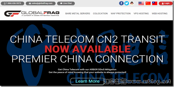 GlobalFrag:$20/月OpenVZ-512MB/25GB/500GB/DDoS保护 洛杉矶