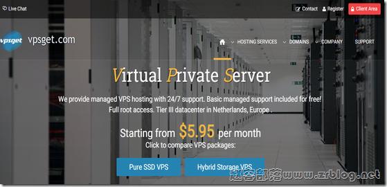 VPSGET:$5.35/月OpenVZ-512MB/20GB/1TB 荷兰