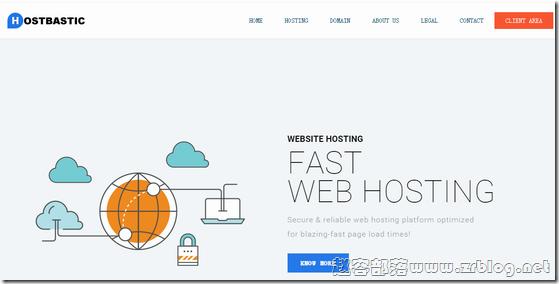 HostBastic:$5/月OpenVZ-1GB/20G SSD/无限 法国