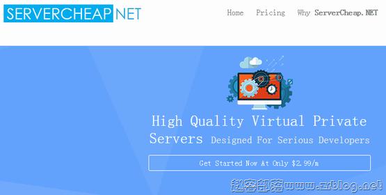 ServerCheap:$2.99/月KVM-2GB/25G SSD/无限 芝加哥