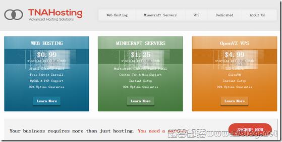TNAHosting:芝加哥独立服务器月付19美元起/6G内存400G硬盘VPS月付5美元