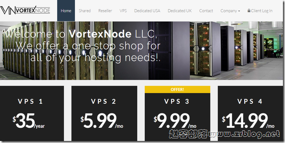 [服务器]VortexNode:$10/月-Atom 1.8GHz/2GB/250GB/5TB/3IP 英国