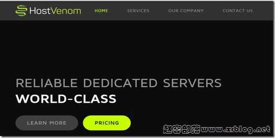 HostVenom:$3/月KVM-512MB/15G SSD/1TB 芝加哥