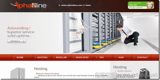 AlphaNine:$3.99/月OpenVZ-512MB/50GB/500GB 拉斯维加斯