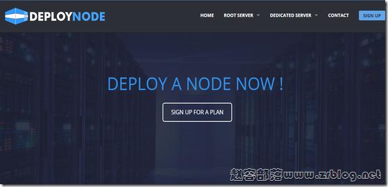 DeployNode:$6/半年OpenVZ-1GB/35GB/1TB 法国