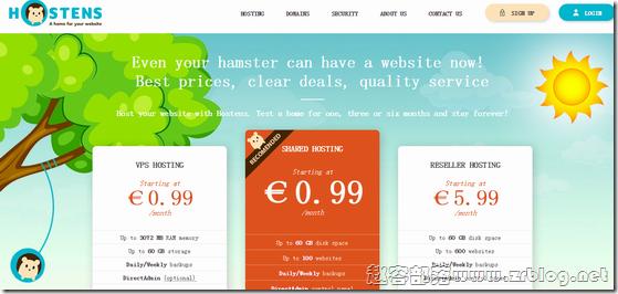 [大硬盘]Hostens:€4.99/月OpenVZ-1GB/1TB/10TB 立陶宛
