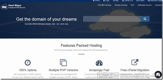 HostMayo:$2.5/月OpenVZ-512MB/5G SSD/2TB 洛杉矶
