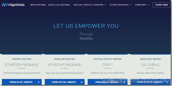 MightWeb:$5.56/月KVM-1.5GB/15GB/1TB 达拉斯