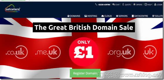 Netcetera:£2.5/首月KVM-512MB/10G SSD/1TB 英国