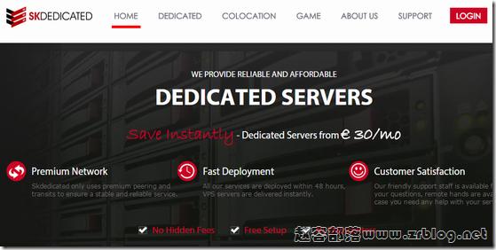 [服务器]SKDedicated:€29/月-X3430/8GB/2*250GB/15TB 荷兰