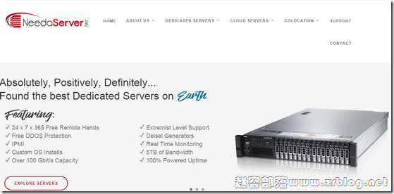 [服务器]NeedaServer:$29.97/月-L5520/24GB/1TB/100M无限 洛杉矶