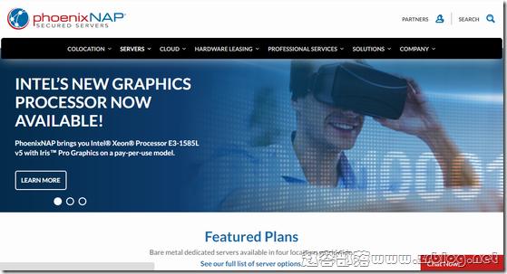 [服务器]PhoenixNAP:$64/月-E3 1230V2/8GB/1TB/15TB/5IP 凤凰城