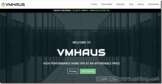 VMHaus:$2.7/月KVM-512MB/10GB/500GB 英国