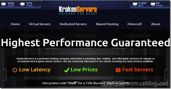 KrakenServers:$2.5/月KVM-1GB/20GB/1TB 达拉斯