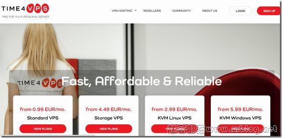 Time4VPS:€1.89/月OpenVZ-512MB/20GB/1TB 立陶宛