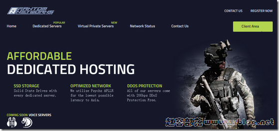 FantomNetworks:$51.8/月-E3 1245v3/32GB/500G SSD/10TB/洛杉矶(Psychz)