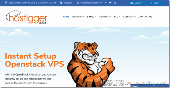 Hostigger:$4.99/月KVM-2GB/30G SSD/2TB 芝加哥