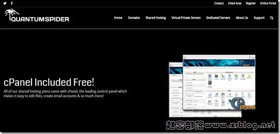 QuantumSpider:$5/月KVM-1GB/30GB/1TB 北卡