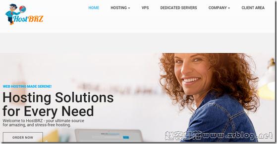 HostBRZ:$12/年OpenVZ-1GB/25G SSD/1TB 芝加哥&纽约&达拉斯