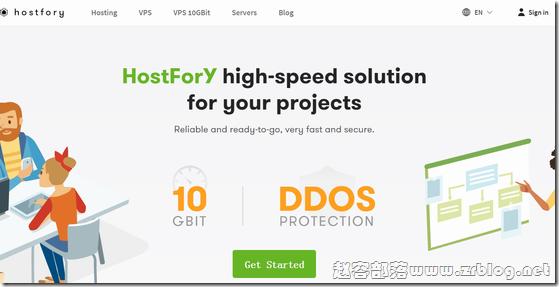 HostFory:$7/月KVM-1GB/20G SSD/10TB 乌克兰