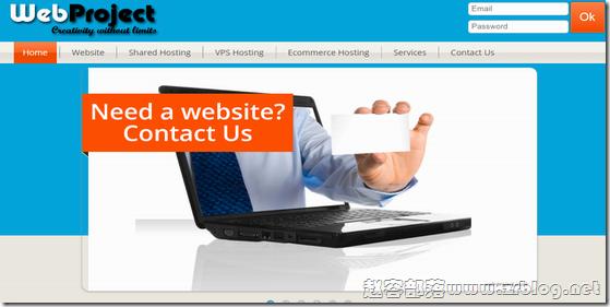 Web-project:£7.5/月XEN/4GB/150GB/5TB/法国/高防VPS