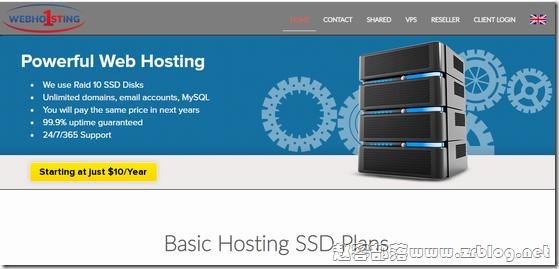 Webhosting1st:$6/月KVM-1GB/20GB/250GB 波兰