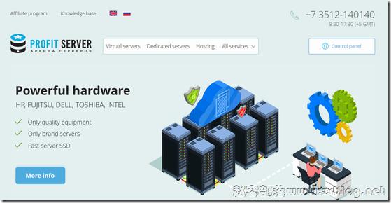 ProfitServer:$4.62/月KVM-1GB/20GB/无限流量/俄罗斯/法国/荷兰/新加坡/美国等