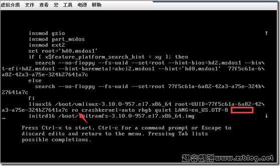 CentOS7忘记密码重置方法